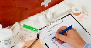 First Aid Checklist for Your Family